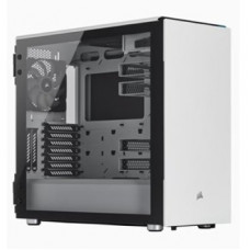 CORSAIR CARBIDE 678C LOW NOISE  ATX  CASE  WHITE