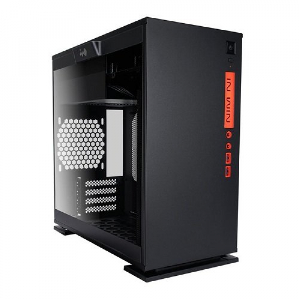 INWIN 301 BLACK MICRO ATX CASE, NO PSU