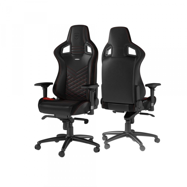 NOBLE CHAIRS EPIC GAMING CHAIR BLACK/RED