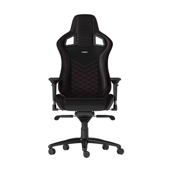 NOBLE CHAIRS EPIC GAMING CHAIR BLACK/PINK