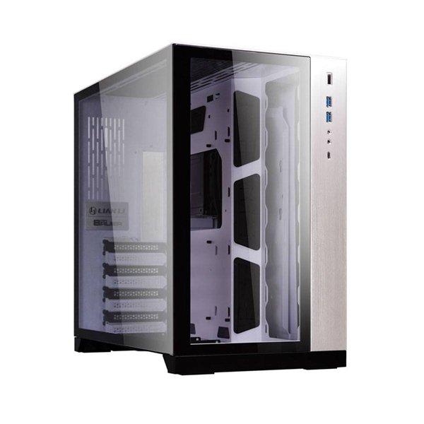 LIAN LI PC-O11 DYNAMIC WHITE ATX MIDTOWER GLASS