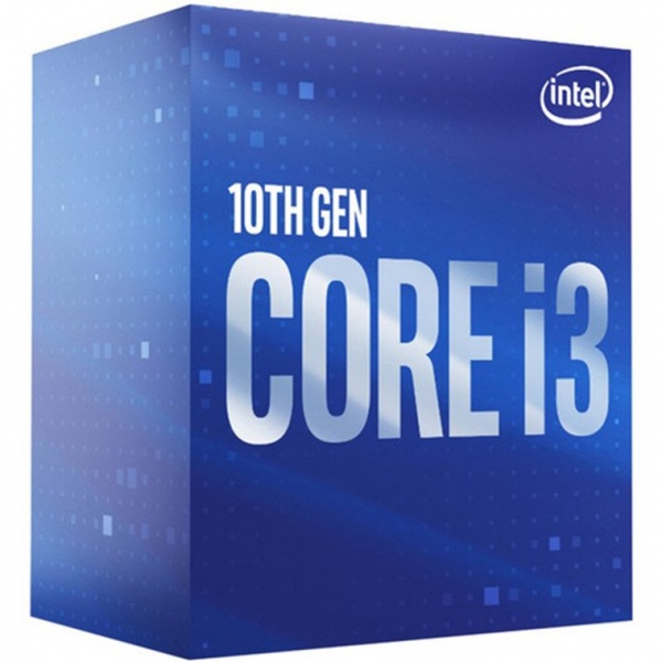 INTEL CORE I3 10100 4 CORES 8 THREADS  3.60GHZ