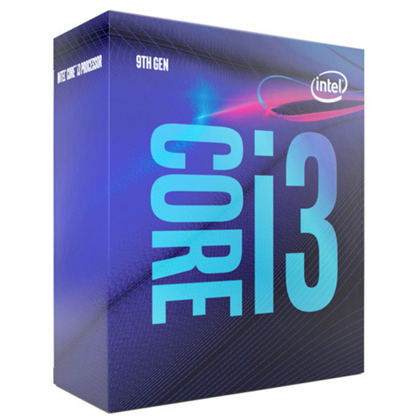 Intel Core i3 9100 4 Cores 4 Threads 3.6GHz