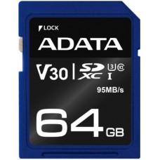 ADATA Premier Pro V30 UHS-I U3 SDXC Card 64GB