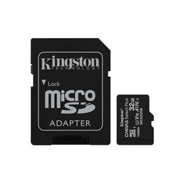 KINGSTON 32GB MICRO SDHC CL10 UHS-I