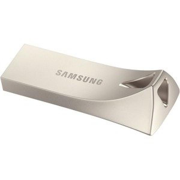 SAMSUNG 64GB BAR PLUS USB CHAMPAGNE SILVER