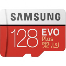 Samsung 128GB EVO PLUS MICRO SD W ADAPTER