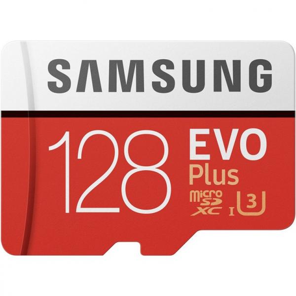 Samsung 128GB EVO PLUS MICRO SD W ADAPTER