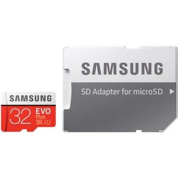 Samsung EVO Plus 32 GB Class 10/UHS-I (U1) microSD