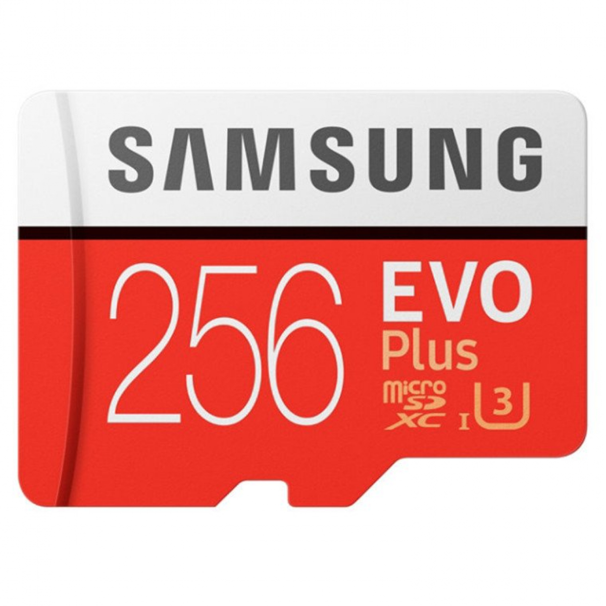 Samsung 256GB EVO PLUS MICRO SD W ADAPTER