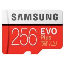 Samsung 256GB EVO PLUS MICRO SD W ADAPTER
