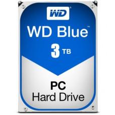 """WD Blue 3TB 64MB 3.5"""" HDD SATA3 5400RPM"""