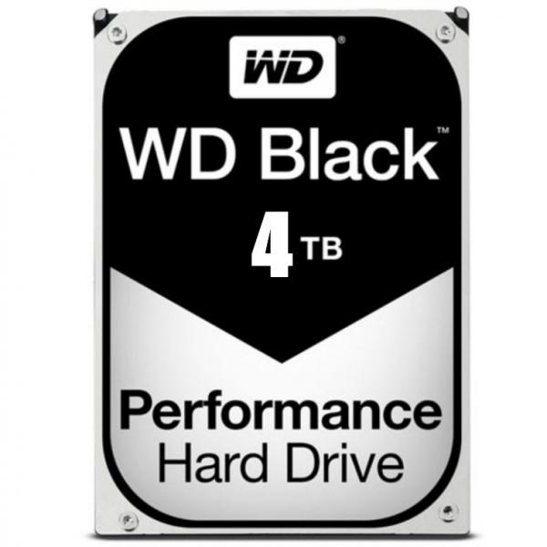 WD BLACK 4TB SATA3 7200RPM 256MB CACHE