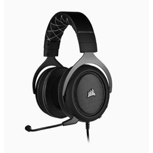 CORSAIR HS60 PRO SURROUND GAMING HEADSET BLACK