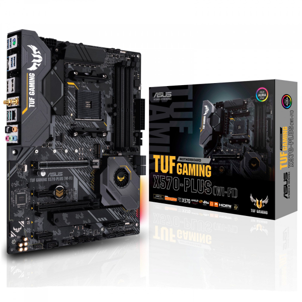 ASUS TUF Gaming X570-PLUS (WI-FI) ATX For AMD Ryze