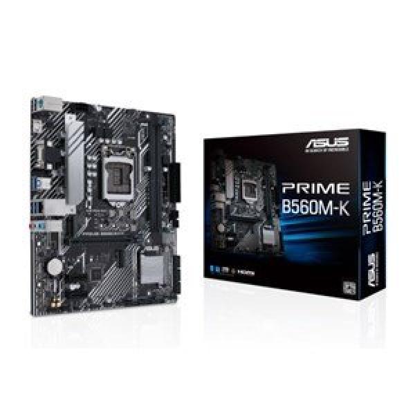 ASUS PRIME B560M-K (LGA 1200) mATX PCIE 4.0 2XM.2