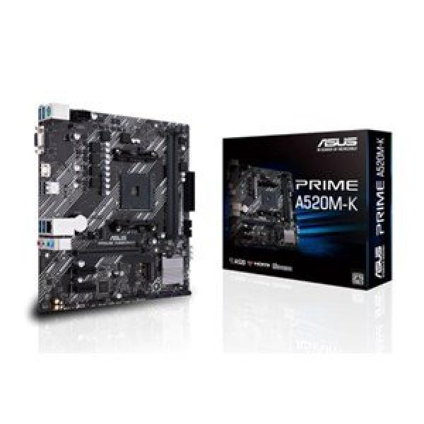 ASUS PRIME A520M-K AMD MICRO ATX M.2 HDMI D-SUB SA