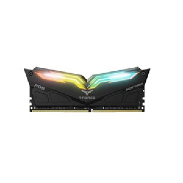 TEAM T-FORCE NIGHT HAWK 16GB (2x8GB) DDR4-3600MHZ