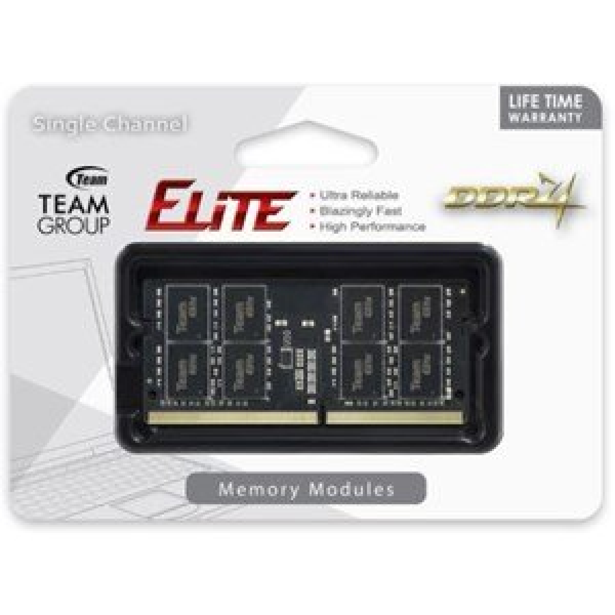 TEAM ELITE SO-D4 8GB 2400 1.2v SODIMM