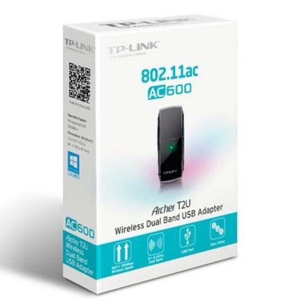 TP-LINK ARCHER T2U AC600 802.11ac USB Adaptor