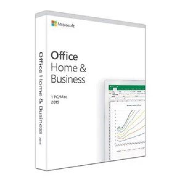 MICROSOFT OFFICE HOME&BUSINESS 2019 RETAIL