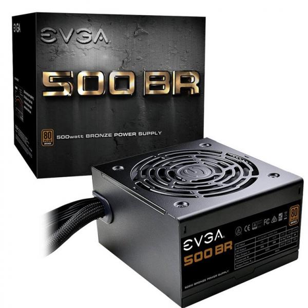 EVGA 500 BR 500W POWER SUPPLY 80+ BRONZE