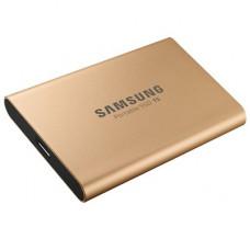 SAMSUNG 500GB T5 PORTABLE SSD GOLD