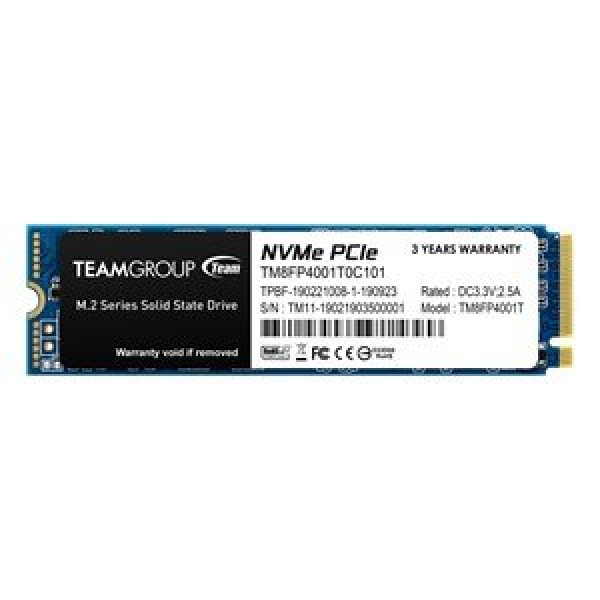 TEAM GROUP MP34 M.2 1TB NVME PCIE WITH DRAM SSD, R