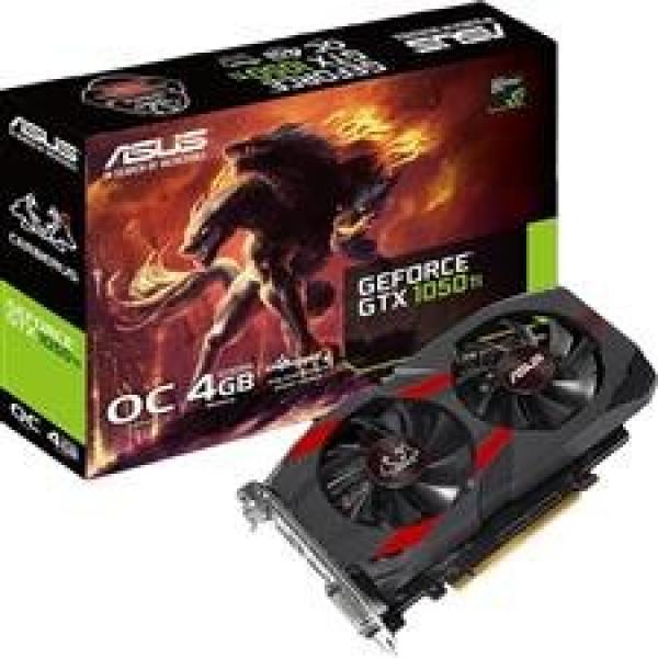 ASUS CERBERUS-GTX1050TI-04G 4GB PCIE