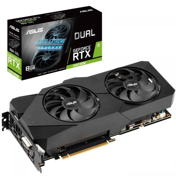 ASUS DUAL RTX-2060S-O8G-EVO DUAL 8GB GDDR6