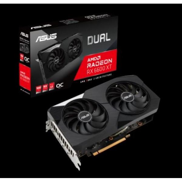ASUS DUAL-RX6600XT-O8G OC EDITION DUAL RADEON 8GB